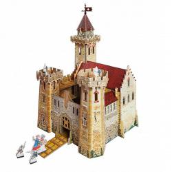 Конструктор картонный 3D Умная бумага Рыцарский замок 207