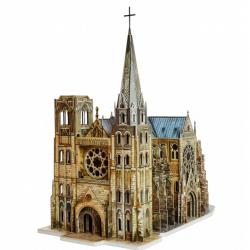 Конструктор картонный 3D Умная бумага Готический собор 255