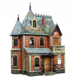 Конструктор картонный 3D Умная бумага Кукольный дом 283