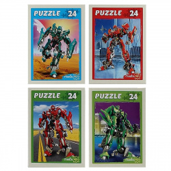 Пазлы 24 элемента 130*175 Рыжий кот CreateMe Трансформеры П24-3913