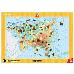 Пазлы 37 элементов 190*290 Step Puzzle Евразия 80456