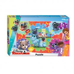 Пазлы MAXI 24 элемента 345*500 Step Puzzle Disney Junior Дружные мопсы 90075