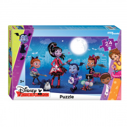 Пазлы MAXI 24 элемента 345*500 Step Puzzle Disney Junior Вампирина 90070