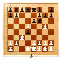 Игра настенная Шахматы магнитные демонстрационные Десятое Королевство 01756