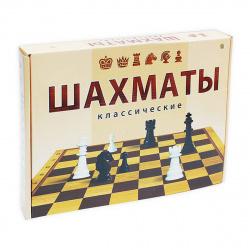 Игра настольная Шахматы Рыжий кот поле картонное фигуры пластиковые ИН-0295