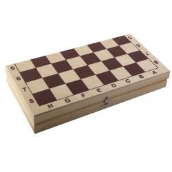 Игра настольная Шашки 29*29см Рыжий кот поле деревянное фигуры деревянные ИН-8058