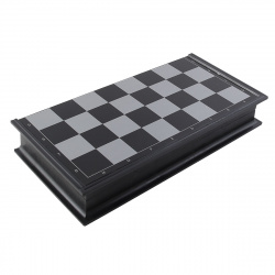 Игра настольная Шахматы магнитные 25*25см  Рыжий кот поле пластиковое фигуры пластиковые AN02581
