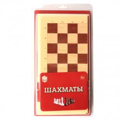 Игра настольная Шахматы 32*32см Десятое Королевство поле пластиковое фигуры пластиковые 03890