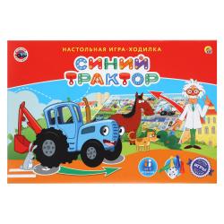 Игра настольная Ходилка Рыжий кот Синий трактор ИН-6130