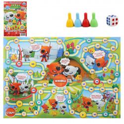 Игра настольная Ходилка Умные игры Веселые приключения Ми-Ми-мишки 227258