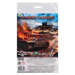 Игра настольная Ходилка Мини Рыжий кот В мире танков ИН-7325