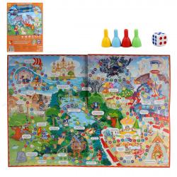 Игра настольная Ходилка В Тридевятом царстве Издательство Геодом