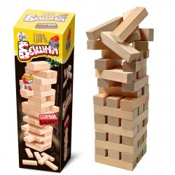 Игра настольная Десятое Королевство Царь башня (падающая башня) дерево 02792