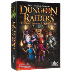 Игра настольная GaGa Games Расхитители Подземелий Dungeon Raiders GG004