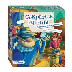 Игра настольная Step Puzzle Секретные агенты 76536