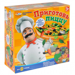 Игра настольная Играем вместе Приготовь пиццу 268089/B1033019-R