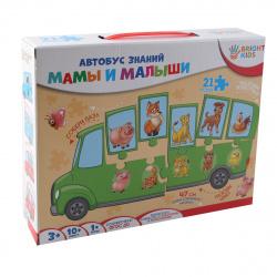 Игра развивающая Рыжий кот Автобус знаний Мамы и малыши ИН-7638