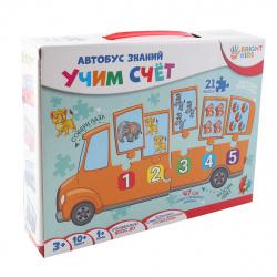 Игра развивающая Рыжий кот Автобус знаний Учим счет ИН-7640