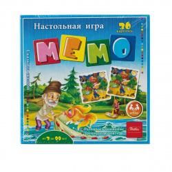 Игра развивающая МЕМО 36 карточек Hatber Сказка за сказкой 36Инм_16921