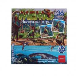 Игра развивающая МЕМО 36 карточек Hatber Эра динозавров 36ИнМ_18432