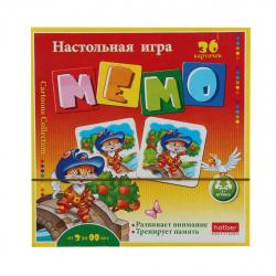 Игра развивающая МЕМО 36 карточек Hatber Сказки 36Инм_11097