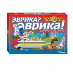 Игра настольная Step Puzzle Викторина Твой кругозор Эврика? Эврика! 76407