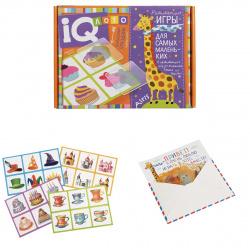 Игра настольная Лото Айрис-пресс для малышей Волшебный праздник подбери силуэт фишки пластиковые 27219