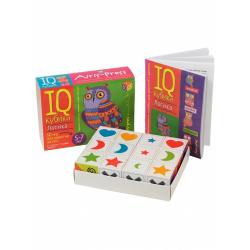 Кубики пластиковые 12шт Айрис-пресс Умные кубики Логика 60 игр для развития интеллекта 5-7лет 27439