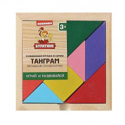 Развивающая игра Буратино Деревянная Танграм W0109/281564
