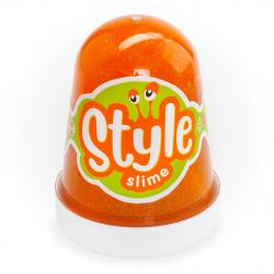 Слайм Lori STYLE SLIME Оранжевый с ароматом апельсина 130гр Сл-020