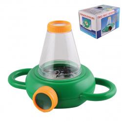 Лупа для просмотра насекомых увел 3 пластик 170940/2 КОКОС
