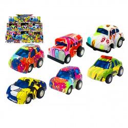 Машина STREET ART RACER 1:60 полноцвет 34023/50963 ассорти