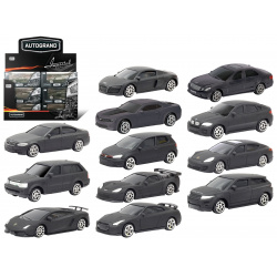 Машина Коллекция BLACK EDITION M 1:60 33893/50594