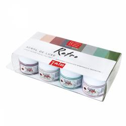 Краска акриловая художественная 8 цветов, 20мл, банка, пластиковая коробка ТАИР 110303014