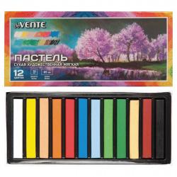 Пастель сухая художественная мягкая 12 цветов deVENTE картонная коробка 8172804