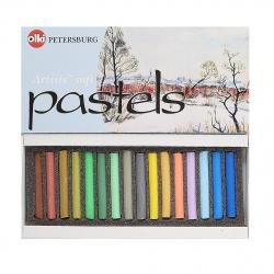 Пастель сухая художественная 16 цветов Невская палитра Времена года Весна картонная коробка 4607044800403