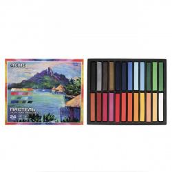 Пастель сухая художественная 24 цвета deVENTE картонная коробка 8172805