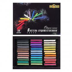 Пастель сухая художественная 36 цветов Спектр Северное сияние картонная коробка 06С-407