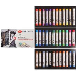 Пастель художественная пастель сухая, 36 цветов Невская палитра 7141225