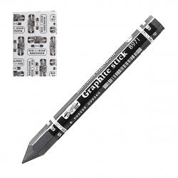 Набор карандашей чернографитных 12 шт 6В KOH-I-NOOR Graphite 8971/6В