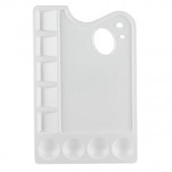 Палитра для рисования пластиковая 15*23 Луч 29С 1729-08