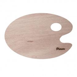 Палитра художника деревянная  овальная 20*30см Pinax PW-В2030