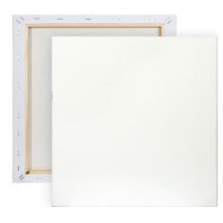 Холст на подрамнике, квадратная, 30*30см, 100% хлопок, 380г/кв.м., мелкое зерно Pinax 20.3030
