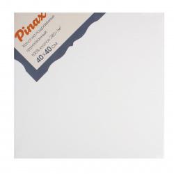 Холст на подрамнике, квадратная, 40*40см, 100% хлопок, 380г/кв.м., мелкое зерно Pinax 20.4040