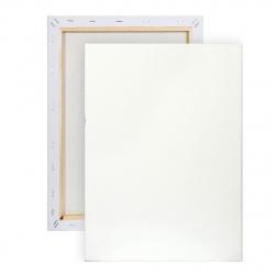 Холст на подрамнике, прямоугольная, 50*70см, 100% хлопок, 380г/кв.м., мелкое зерно Pinax 20.5070