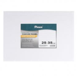 Холст на картоне 25*35 100% хлопок 280гр мелкое зерно Pinax 10.2535