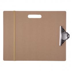Доска-планшет 36*46см МДФ резинка и клипса Pinax DP-А3