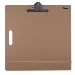 Доска-планшет 45*45см МДФ резинка и клипса Pinax DP-4545