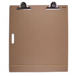 Доска-планшет 58*66см МДФ резинка и клипса Pinax DP-5866