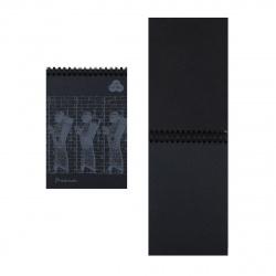 Блокнот для пастели А5 (140*200) 30л 160г/м2 дв спир Лилия Холдинг Premium Ground БРr/GN черный